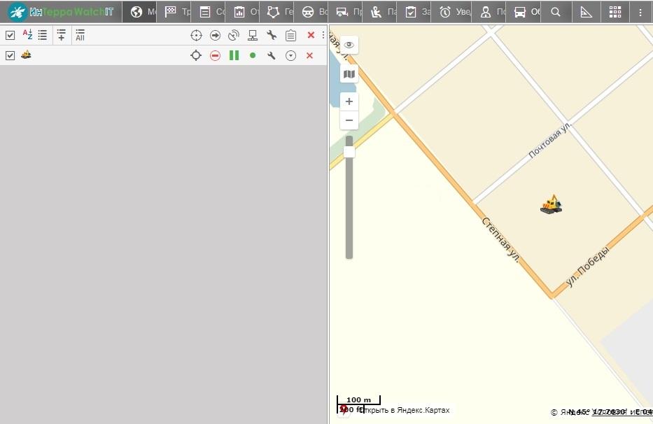 Wialon Hosting актуальная карта