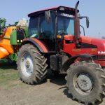 Трактор МТЗ 1523 и ГЛОНАСС