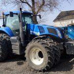 трактор NewHolland и ГЛОНАСС