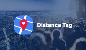 Distance Tag Wialon BLE