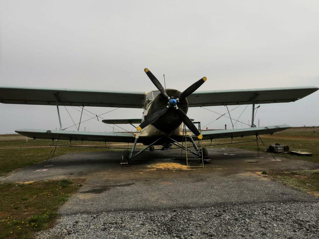 IoT самолет ГЛОНАСС на АН-2