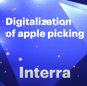 Digitalization of apple picking IoT Project of The Year 2021